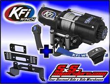 4500 lb KFI Winch Combo Polaris MidSize Ranger 2010-2017+ 400 EV 500 570 800 ETX