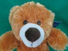 New Furry Butterscotch Caramel Brown Blonde Lovable Huggable Dandee Teddy Bear