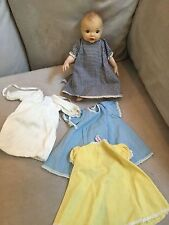 Terri Lee Doll Linda Baby plus tagged clothing 1950's