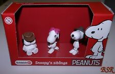 Schleich PEANUTS: 22058 Scenery Pack Snoopy´s siblings 3er Set ! NEU !