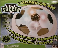 "Soccer Puck Air Power Glides on Floor Giant 7"" Flashing Lights"