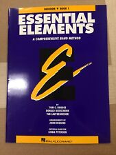Essential Elements, Bassoon, Book 1
