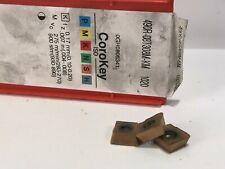 SANDVIK 490R-08T308M-KM New Carbide Inserts Grade 1020 3pcs