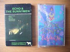 echo and the bunnymen enlighten me  shine so hard cassette single