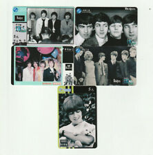 (5) Rare Phone Cards - The Beatles