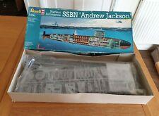 Revell 1/200 US Nuclear Submarine SSBN Andrew Jackson Plastic Model Kit