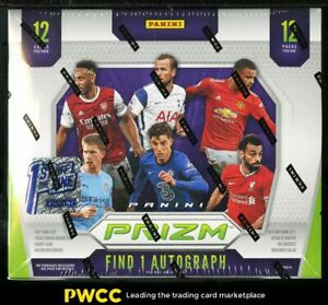 2020 Panini Prizm Premier League FOTL Factory Sealed Hobby Box, 12ct Packs