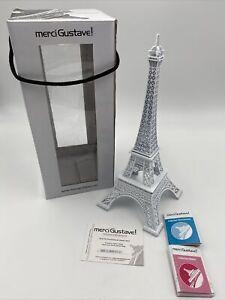 Eiffel Tower Paris Metal Model 12 3/16in, Limited Certificate, Merci Gustave!