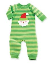Mud Pie Baby SANTA ONE PIECE 0-6 months 130263 Christmas Sleeper I Believe