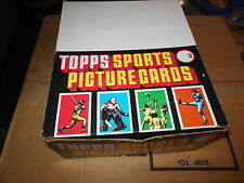 1987 TOPPS UNOPENED RACK BOX BASEBALL CARDS 24 PACKS BONDS LARKIN BO JACKSON RC