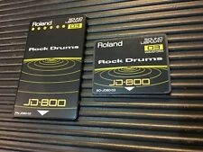 Rock Drums SO-JD80-03 & PN-JD80-03 Cards for Roland JD 800 Synth  //ARMENS//