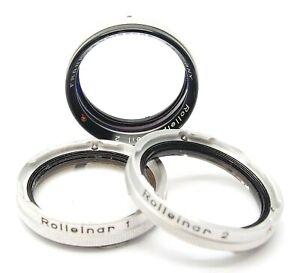 ROLLEIFLEX ROLLEIPARKEIL 2 CLOSE- UP SET BAYONET I - UK DEALER