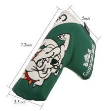 Golf Bull Dog Blade Putter Cover Magnetic for TaylorMade Ghost Callaway Ping