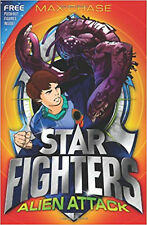 Alien Attack (Star Fighters), New, Chase, Max Book