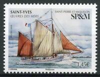 Saint-Pierre & Miquelon SP&M Ships Stamps 2020 MNH Saint-Yves Boats 1v Set
