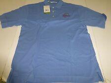 Cutter& Buck Men's Sail Blue Polo Shirt SZ Medium Kellswater Bridge NEW  L@@K