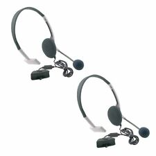 2 NEW Packs Headset Live Headphone With Microphone for XBOX 360 US Slim