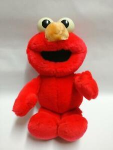 "Sesame Street Baby Elmo Muppet Puppet 11"" 1992 Plush Soft Toy F/S (PTY121)"