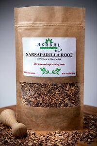 Sarsaparilla Dried Root (Smilax ornata/officinalis) Kolcorosl Lekarski 50g