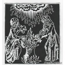 Witchcraft Sabbath Witches Embroidered Back Patch occult witch