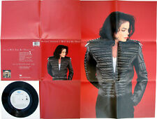 "Michael Jackson WILL YOU BE THERE Disque 45t 7"" Vinyl Single Poster Bag 1993"