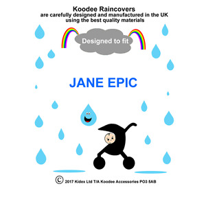 RAINCOVER by Koodee designed to fit JANE EPIC SEAT UNIT Made in the UK BNIP