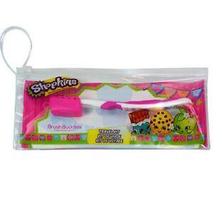 New Shopkins Brush Buddies Tooth Brushing Kit for kids
