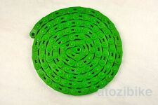 NEW YBN Single Speed Bicycle Bike Chain MK747 Fixed Gear BMX MTB Cycling - Green