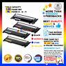 4x NoN-OEM CLT-K406S,CLT-C406S, CLT-M406S, CLT-Y406S for Samsung Toner CLP365