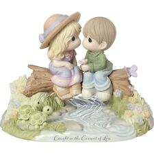 """Precious Moments """"Caught In The Current Of Love"""" 183003 Limited Edition Nib"""