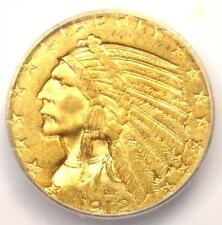 1912-S Indian Gold Half Eagle $5 Coin - ICG MS61 - Rare in MS61 - $3,090 Value!