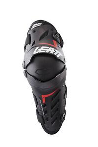 Leatt Knee & Shin Guard Dual Axis - Black (Pair) Dirt Bike MX / MTB Bicycle