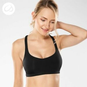 Women Yoga Sport Bra Light Support Cross Back Wirefree Removable Cup Breathable