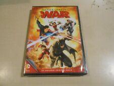 Justice League: War Dvd New/Sealed Dc Universe Original Movie Dc Comics Batman