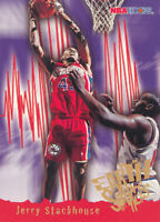 Jerry Stackhouse 1995-96 NBA Hoops #367 Sixers RC Rookie Card