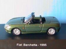MINIATURE FIAT BARCHETTA 1995 VERTE STARLINE 1/43 GREEN CABRIOLET ROADSTER VERT