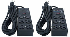 Furman Ss-6b Pro Plug 6 Outlet AC Surge Power Strip Conditioning 540 Joules of