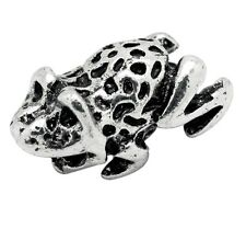 Frog Animal Toad Amphibean Pet Zoo Bead for Silver European Style Charm Bracelet