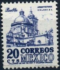 MEXIQUE ARCHITECTURE COLONIALE PUEBLA  NEUF ** SANS CHARNIERE