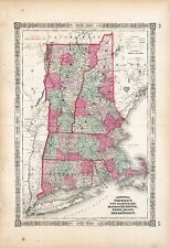 180 maps New Hampshire state Panoramic old genealogy History teaching atlas Dvd