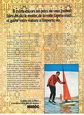 PUBLICITE  1971   LE MAROC   le gout des vacances