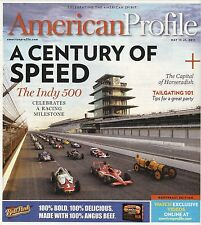 The Indy 500: A Century of Speed--2011 American Profile Magazine