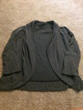 Miss Guided Women's Gray Cardigan Sweater Size Small