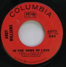 Pop 45 Andy Williams - In The Arms Of Love / The Many Faces Of Love On Columbia