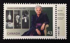 Canada #1509 LF MNH, Jeanne Sauve Stamp 1994