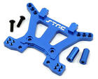 STRC ST6839B BLUE ALUMINUM FRONT Shock Tower TRAXXAS SLASH 4X4 4WD HCG LCG