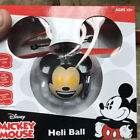Disney Mickey Mouse Heli Ball indoor Helicopter New Yellow Star Eyes