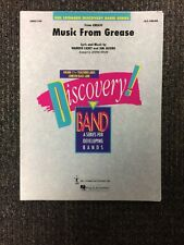Sheet Music From Grease For Band Arrangement