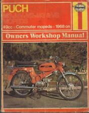 PUCH MS50,MV50,VS50,M2,M3,DE LUXE,MOPED HAYNES WORKSHOP MANUAL 1968-1976