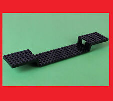 LEGO 2972 Platte Schwarz Eisenbahn Train Base Plate 6 34 3677 87058 4560 10219
